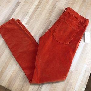 Stretch Corduroy Skinny Jeans NWT